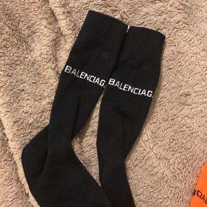 Balenciaga black socks